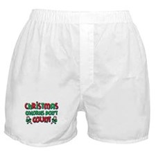Christmas Calories Boxer Shorts