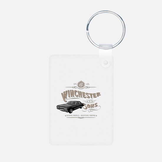 Supernatural - Winchester & Sons mud Keychains