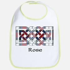 Knot-Rose dress Bib