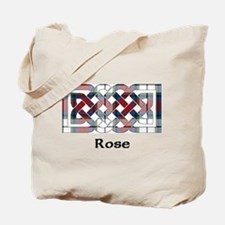 Knot-Rose dress Tote Bag