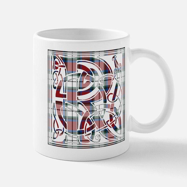 Monogram-Rose dress Mug