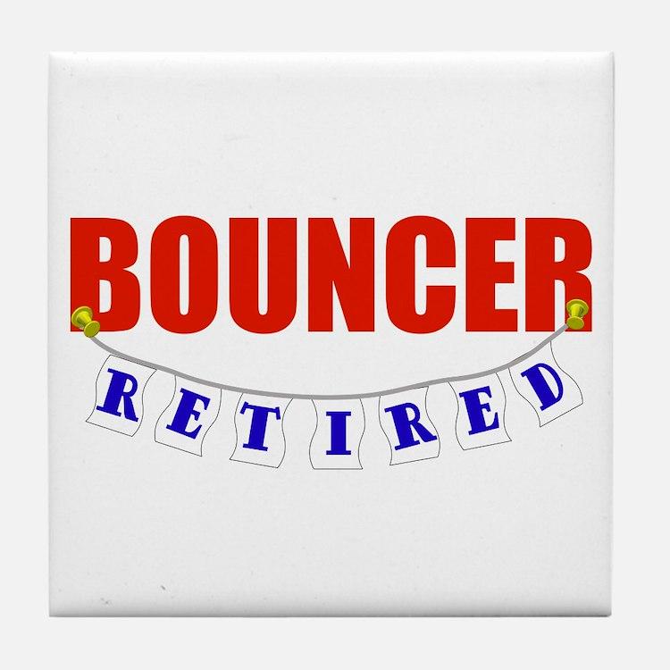 Retired Bouncer Tile Coaster