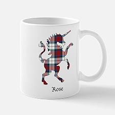 Unicorn-Rose dress Mug