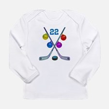 hockey Long Sleeve Infant T-Shirt