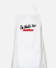 """The World's Best Auditor"" BBQ Apron"