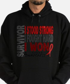Survivor 4 Stroke Shirts and Gift Sweatshirt