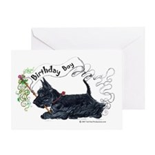 Birthday BOY Scottie Greeting Card