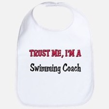 Trust Me I'm a Swimming Coach Bib
