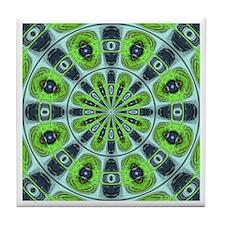 Green Meddle Original Tile Coaster