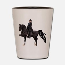 Cute Western pleasure horse Shot Glass
