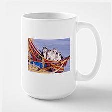 Husky Puppies Mugs