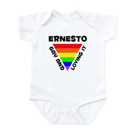 Ernesto Gay Pride (#006) Infant Bodysuit