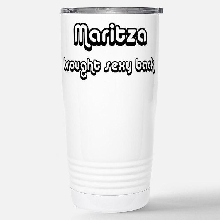 Cute Maritza Travel Mug