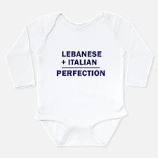 Lebanese + Italian Body Suit