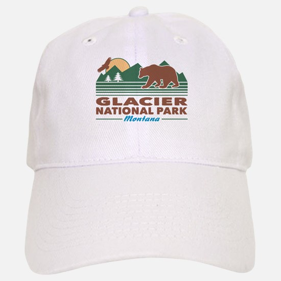 Glacier National Park Baseball Baseball Cap