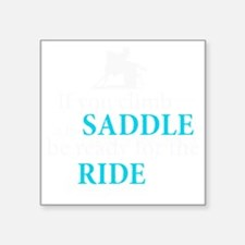 "Redneck racer Square Sticker 3"" x 3"""