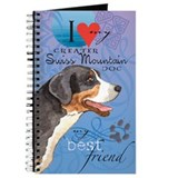 Greater swiss mountain dog Journals & Spiral Notebooks