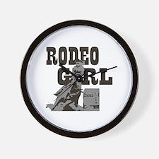 Unique Barrel racer horse Wall Clock