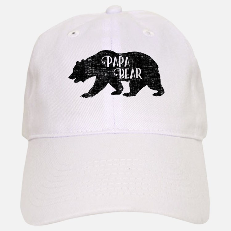Papa Bear - Family Shirts Baseball Baseball Cap