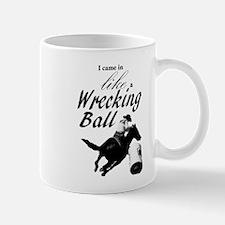 Barrel Racer: Wrecking Ball Mugs