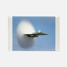 F/A 18 Hornet Sound Barrier Navy Gift Magnets
