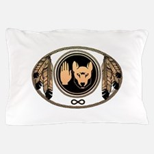 Native Wolf Flag Pillow Case