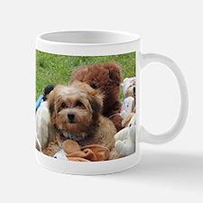 Cute Morkie dog Mug