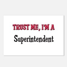 Trust Me I'm a Superintendent Postcards (Package o