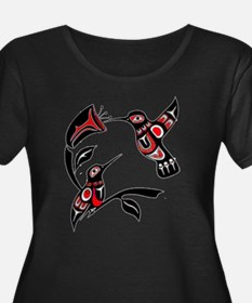 redhummingbird Plus Size T-Shirt