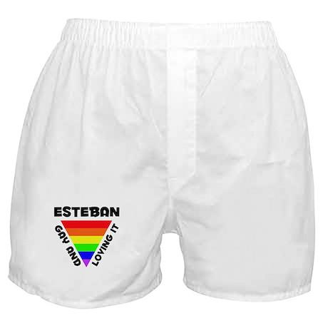 Esteban Gay Pride (#006) Boxer Shorts