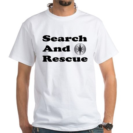 Search And Rescue White T-Shirt