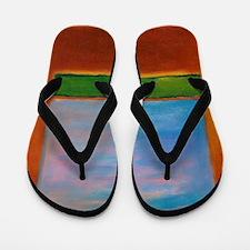 ROTHKO'S WINDOW Flip Flops
