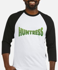 huntress female hunter gifts Baseball Jersey