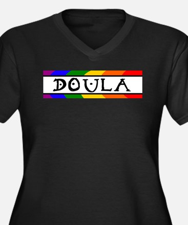 Doula Rainbow Plus Size T-Shirt