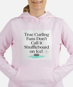 Curling Slogan Sweatshirt