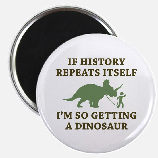 """History Repeats 2.25"""" Magnet (100 pack)"""