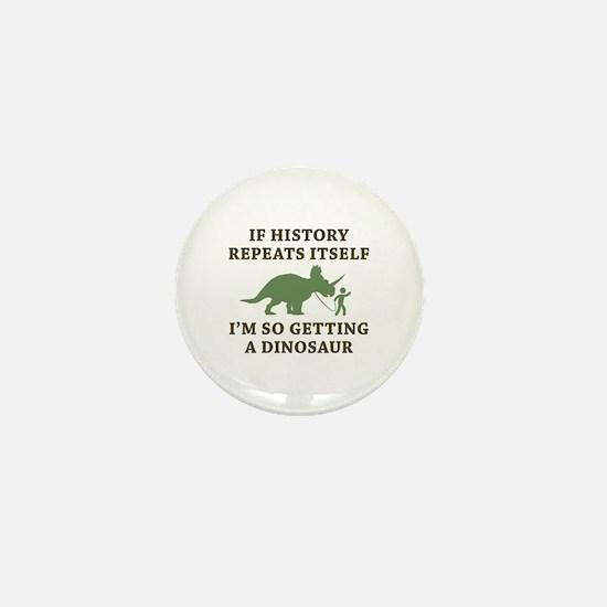 History Repeats Mini Button