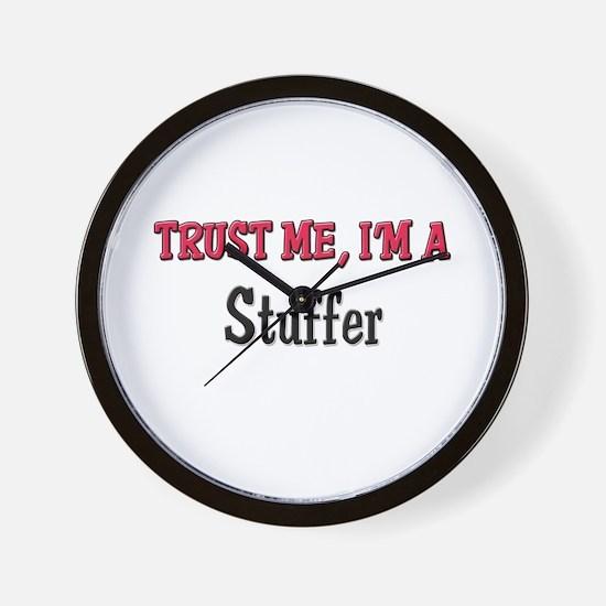 Trust Me I'm a Stuffer Wall Clock
