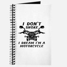 I Don't Snore Journal