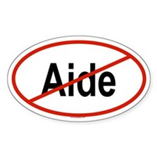 AIDE Oval Decal
