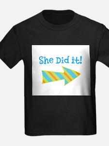 SheDidI T-Shirt
