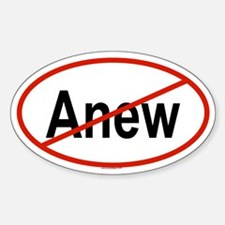 ANEW Oval Decal