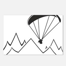 Funny Paragliding Postcards (Package of 8)