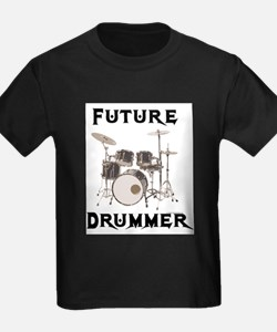 Future Drummer Kids T-Shirt