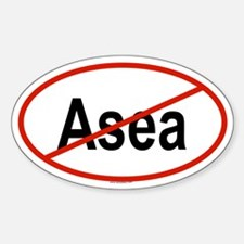 ASEA Oval Decal