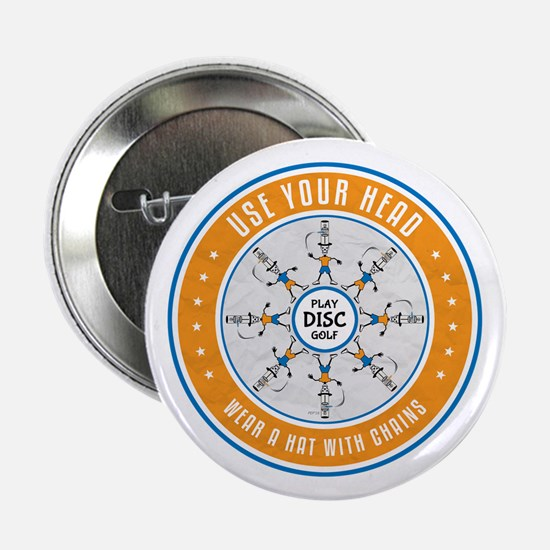 "Use Your Head 2.25"" Button (10 pack)"