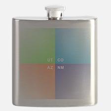 Four Corners - 4 Corners Flask