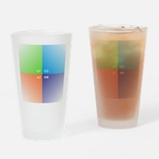 Four Corners - 4 Corners Drinking Glass