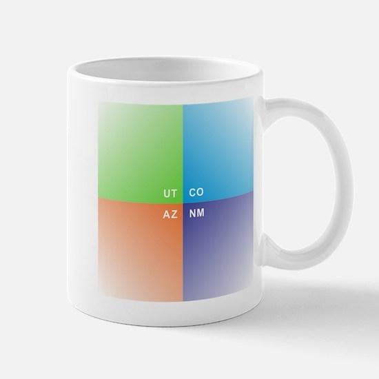 Four Corners - 4 Corners Mugs