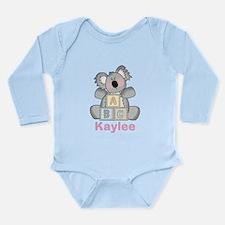 Kaylee's Sweet Koala Long Sleeve Infant Bodysuit